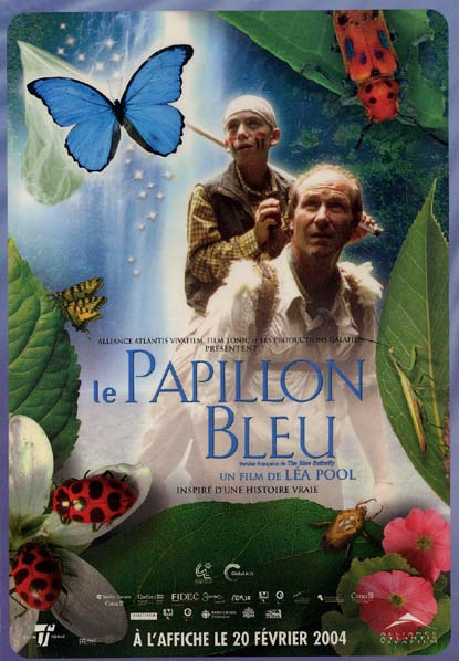 Image result for le papillon bleu